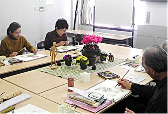 日本画を楽しむ会