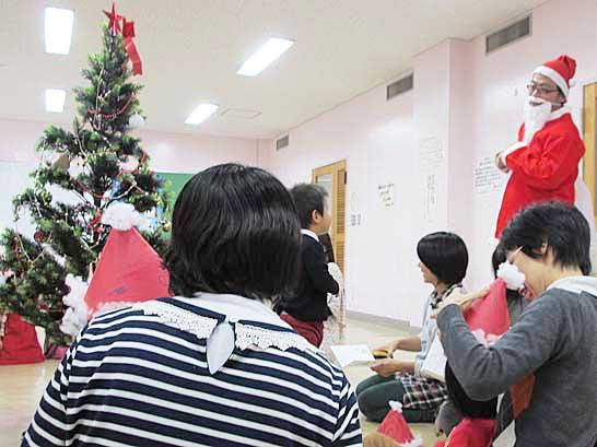 文化センターでクリスマス会